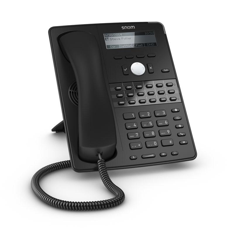 Telefono Snom D725 Black