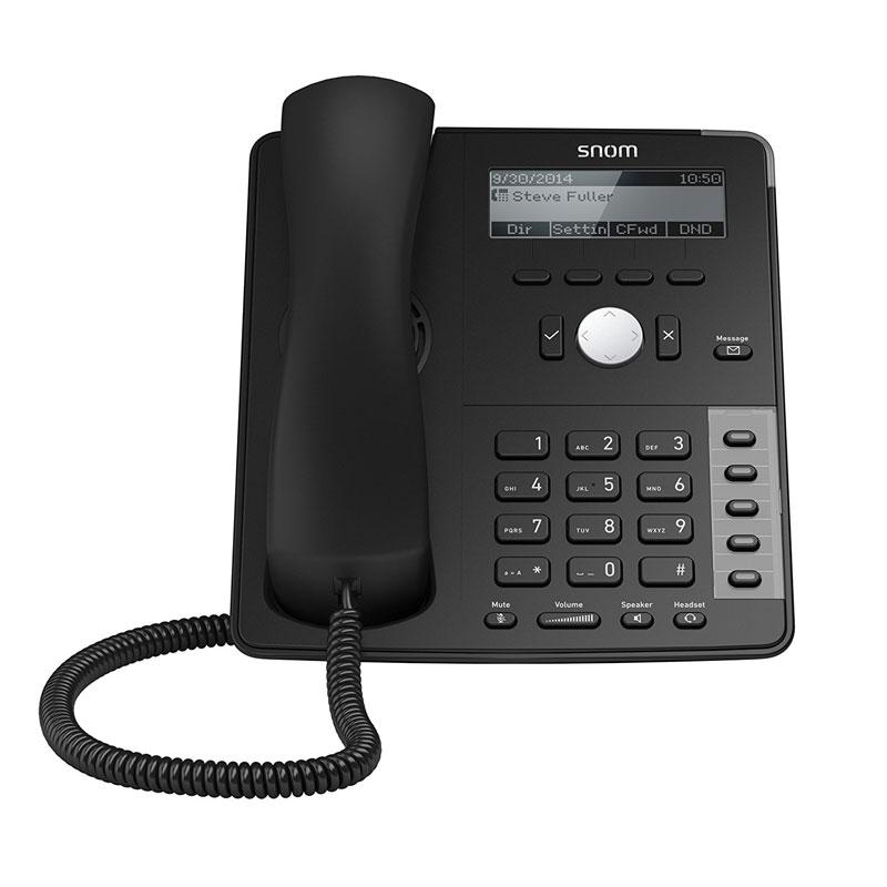 Telefono Snom D715 Black