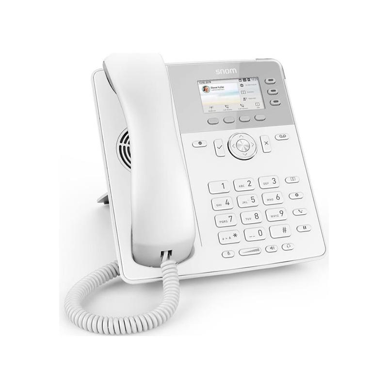 TELEFONO SNOM D717 WHITE