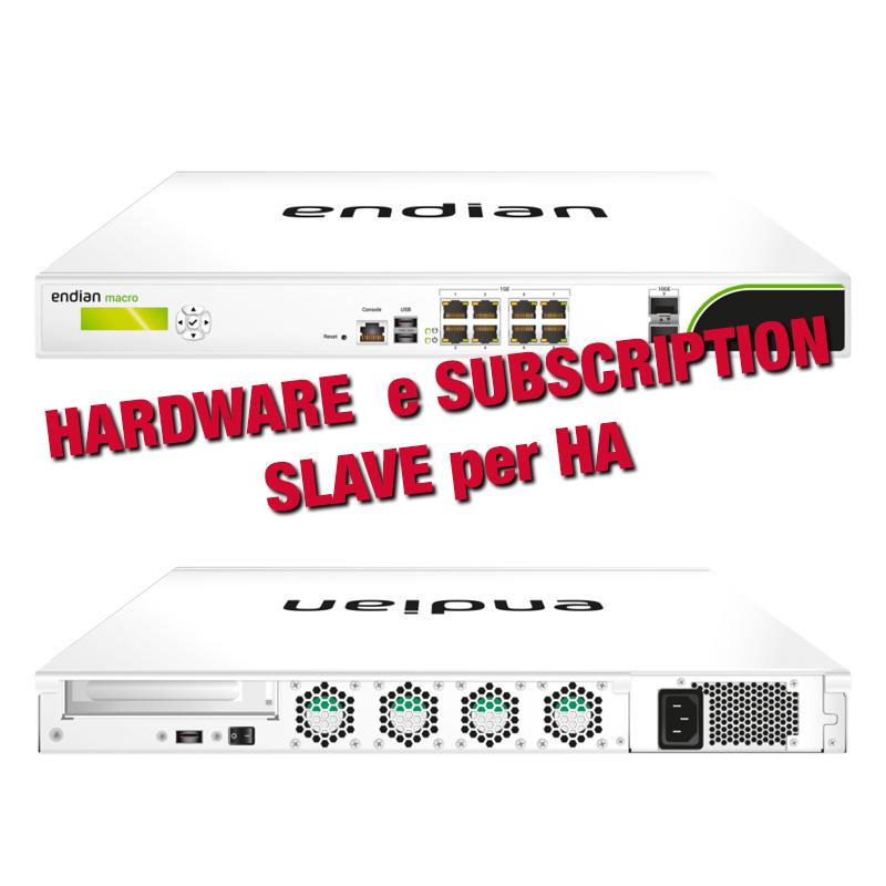 Endian UTM Macro 500 con Slave per HA