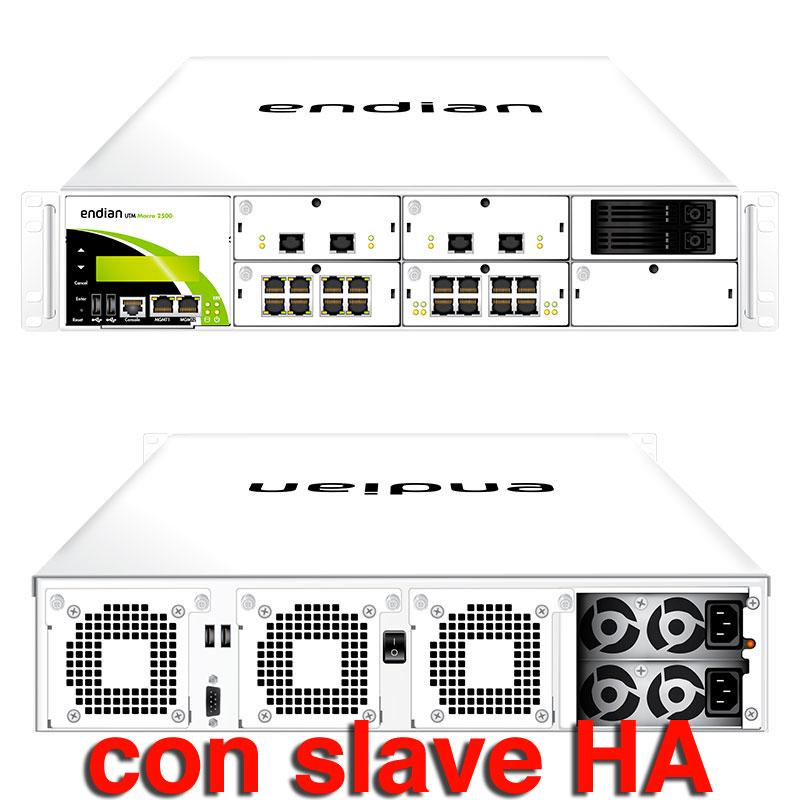 Endian UTM Macro 2500 con Slave per HA