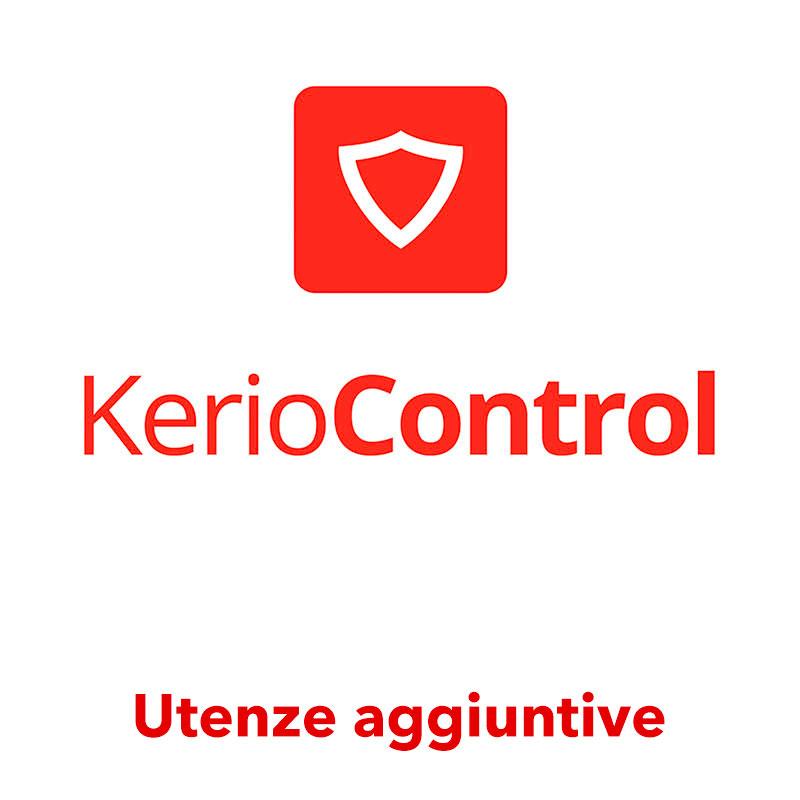 Utenze aggiuntive abbonamento Kerio Control