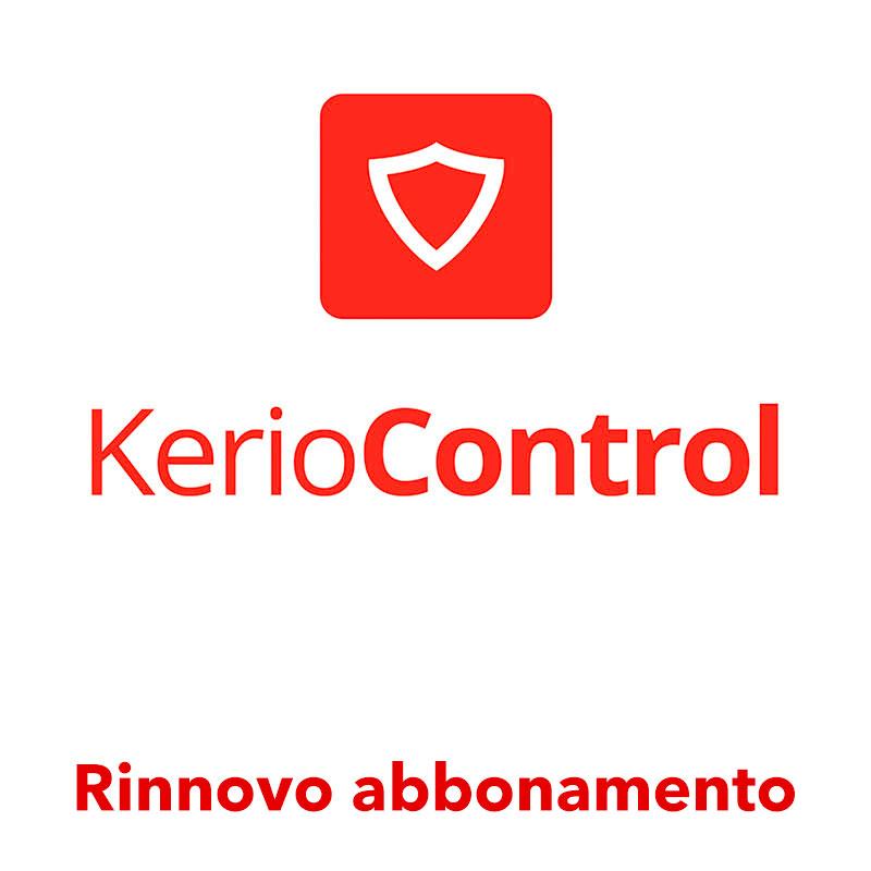 Rinnovo abbonamento Kerio Control