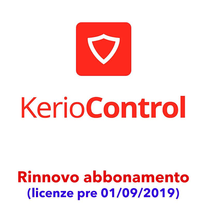 Rinnovo abbonamento Kerio Control (licenze pre 01/09/2019)
