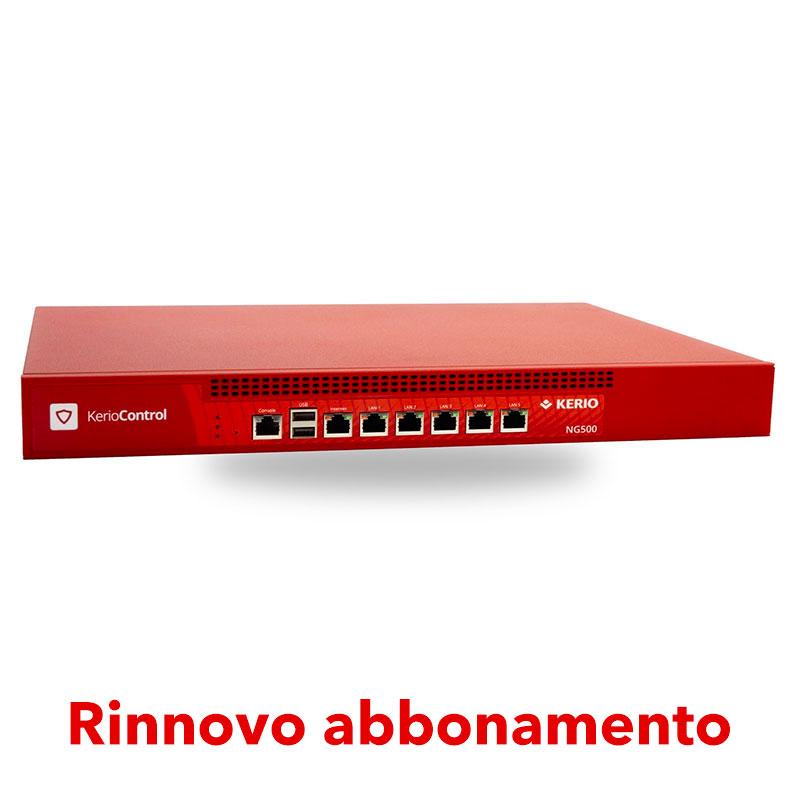 Abbonamento Kerio Control per Box NG500