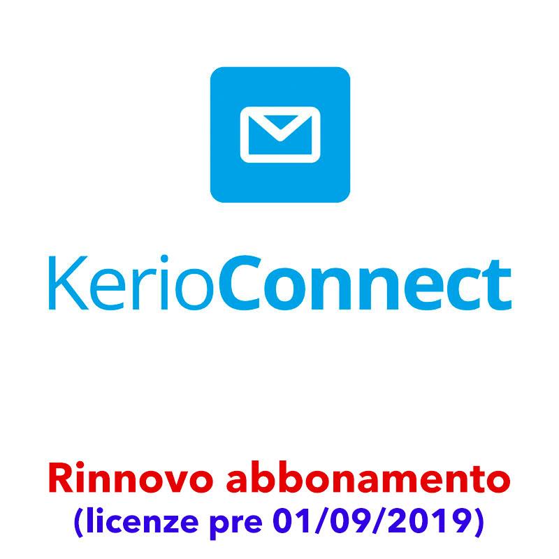 Rinnovo abbonamento Kerio Connect (licenze pre 01/09/2019)