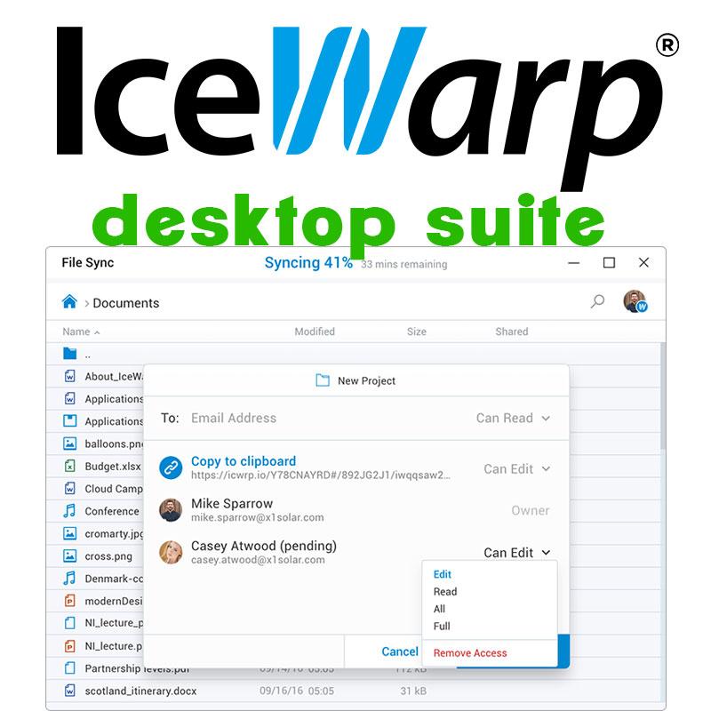 IceWarp Desktop Suite