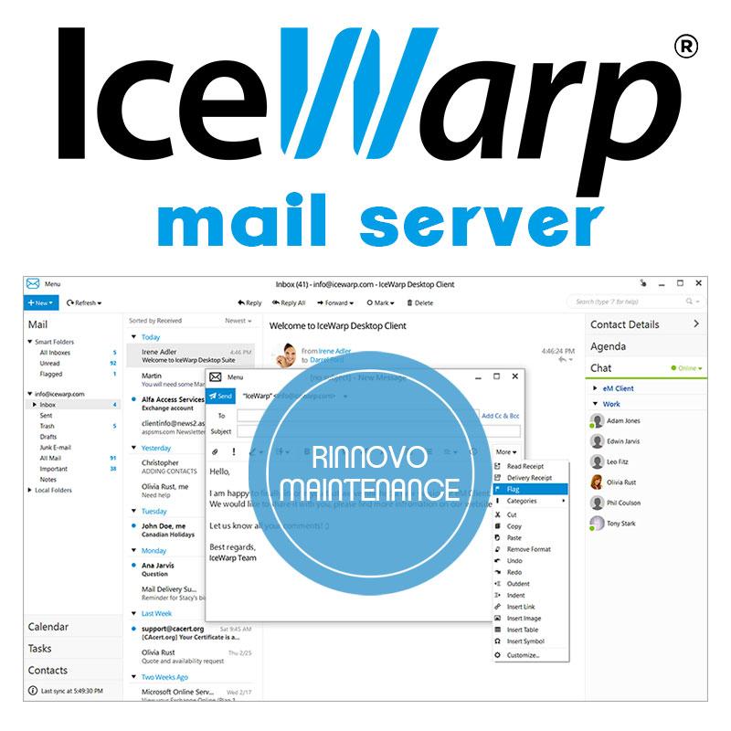 Rinnovo maintenance IceWarp Suite