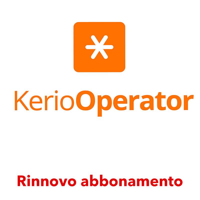Rinnovo abbonamento Kerio Operator