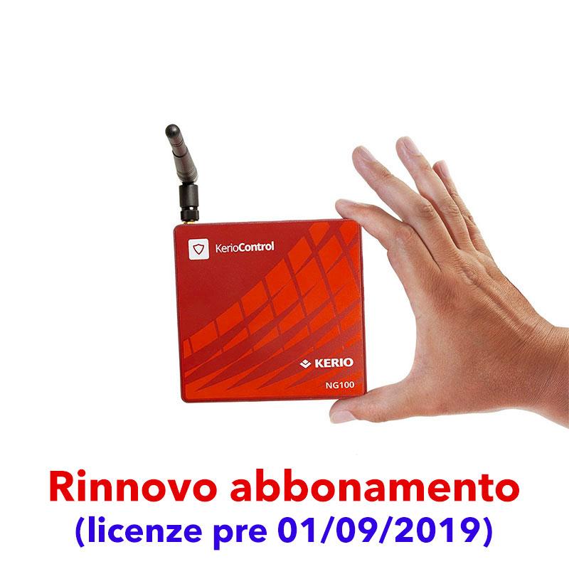 Abbonamento Kerio Control per Box NG100W (licenze pre 01/09/2019)