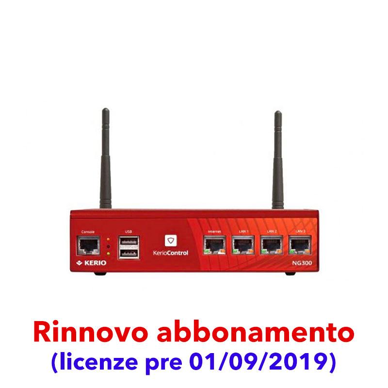 Abbonamento Kerio Control per Box NG300W (licenze pre 01/09/2019)